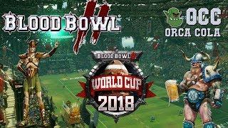 World cup qualifier! wood elves (the sage) vs norse (frank furter) - occ wcq g1 (blood bowl 2)