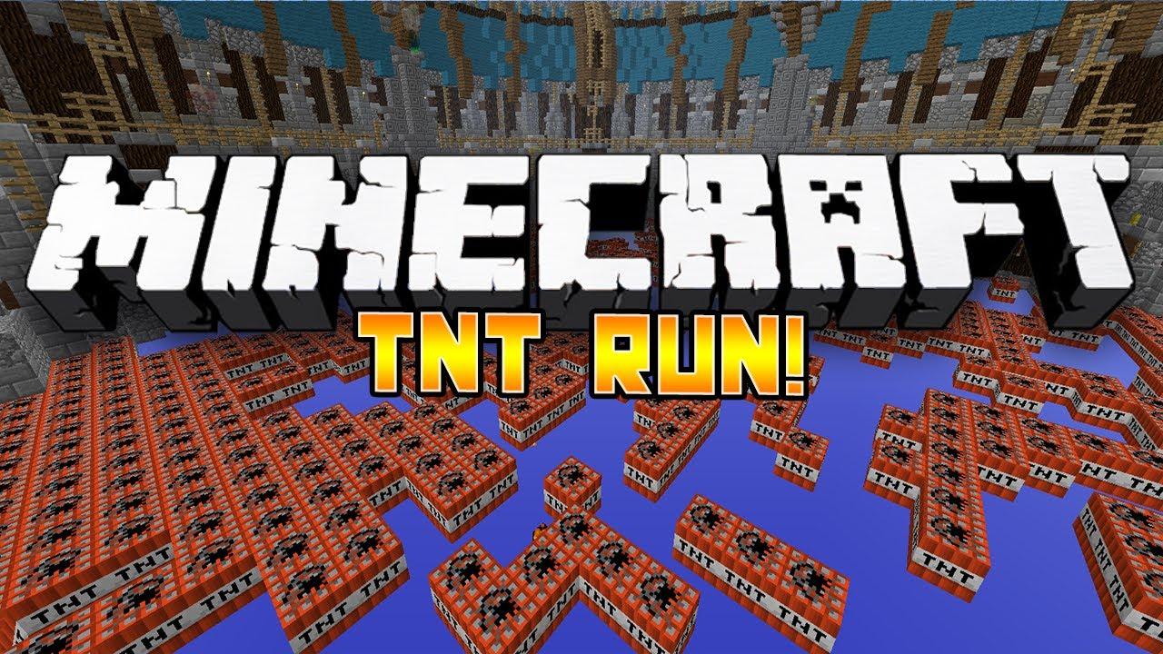 Minecraft Mini Game TNT RUN 3 WBodil Bashur