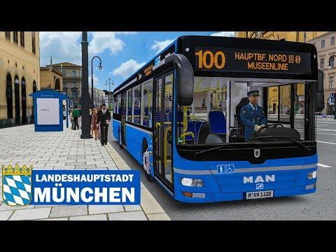 OMSI 2: Landeshauptstadt München #1 - MUSEENLINIE 100 mit dem MAN Lion's City A37 | BUS-SIMULATOR
