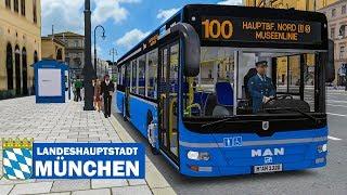 OMSI 2: Landeshauptstadt München #1 - MUSEENLINIE 100 mit dem MAN Lion