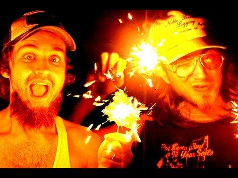 Rhett And Link - Freelance Fireworks Hall Of Fame
