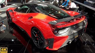 POGEA RACING FPLUS CORSA FERRARI 488 GTB - OVERVIEW and driving | TOP MARQUES MONACO [2018 4K]