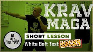 Krav Maga | SHORT LESSON: White Belt Test Hacks