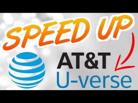 How to Speed Up AT&T U-Verse Internet