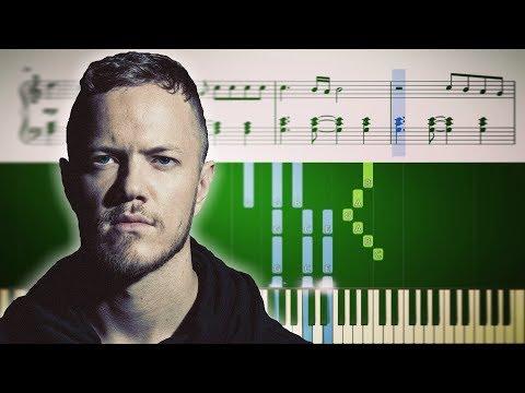 NATURAL (Imagine Dragons) - Piano Tutorial + SHEETS