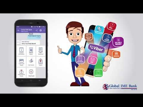 Global IME Bank, Viber Banking TUTORIAL