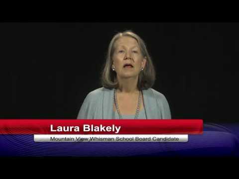 Elections 2016 - MVWSD School Board - Laura Blakely
