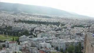 ギリシャ旅行 パルテノン神殿、アテネ市内観光
