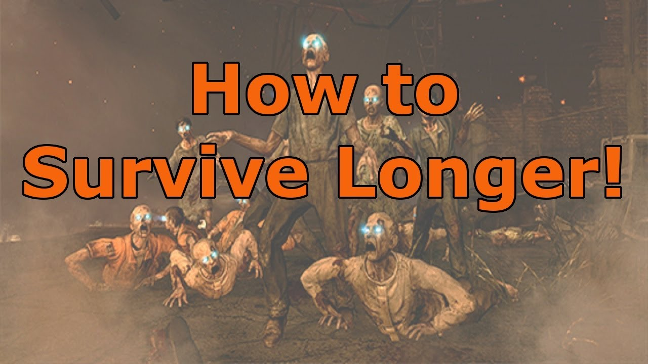 How to Survive Longer in Black Ops 2 Zombies!