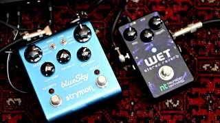 strymon bluesky shimmer vs neunaber stereo wet reverb shimmer demo