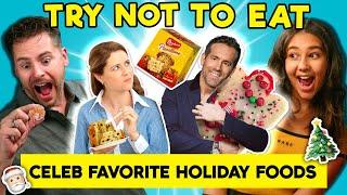 Try To Resist Celeb Favorite Holiday Foods (Jonas Brothers, Ryan Reynolds)