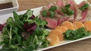Asian Pan Seared Tuna Steak