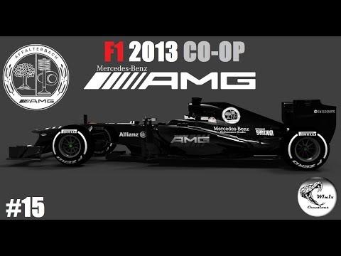 F1 2013 COOP // R15: JAPAN GP // TEAM MERCEDES with AMG // #15