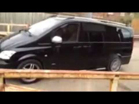 Mercedes Vito 3 2v6 Supercharger Amg 400bhp Burnout And Acceleration