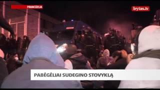 Pabėgėliai nenustoja stebinti: sudegino priešų stovyklą