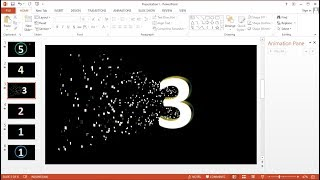 Tutorial PowerPoint 2013 Cara Membuat Presentasi Slideshow Animasi Countdown Timer dengan Music