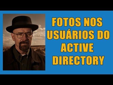 Como colocar fotos  para usuários do Active Directory