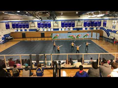 Tokay HS Winterguard Benicia Bay Winter Review 2018
