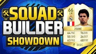 "FIFA 17 SQUAD BUILDER SHOWDOWN VS SUBSCRIBERS!!! ENZO ""ZIDANE"" FERNANDEZ!!! Zidane"