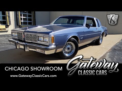 1983 Oldsmobile Delta 88 Royale Brougham - Gateway Classic Cars #1674 Chicago
