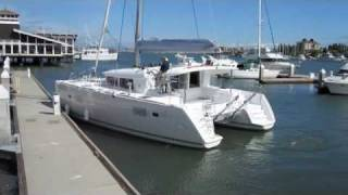 Boat Docking Guide - Getting off the dock with breeze on dock