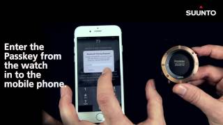 Suunto Kailash: Sincronizar con iPhone