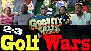 Gravity Falls - 2x3 Golf Wars - Group Reaction