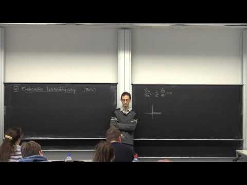 Pk5 KTP WS15 VL29 Lorentz-Transformation und Gleichzeitigkeit