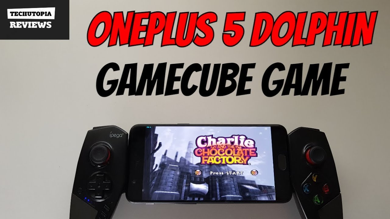 Charlie and the Chocolate Factory Gameplay Dolphin test Gamecube games  smartphone Android OnePlus 5