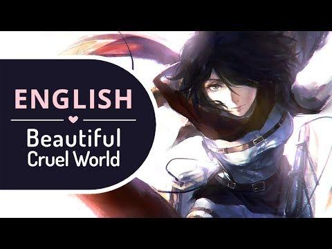Beautiful Cruel World (English) - Attack on Titan ED 1 【BriCie & Zacky】