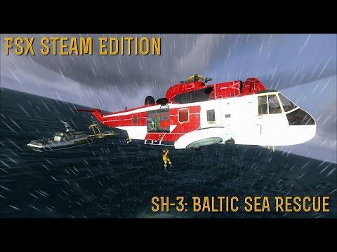 [FSX SE] MISSIONS: SH-3 Baltic Sea Rescue