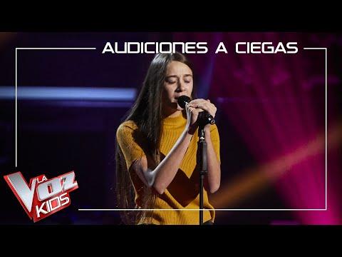 La malagueña María López la lía en las Audiciones a ciegas de La Voz Kids