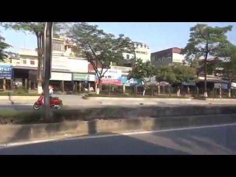 bus trip from Ha Noi to Ninh Binh