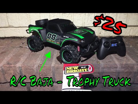 New Bright - R/C Baja -Trophy Truck Review - YouTube