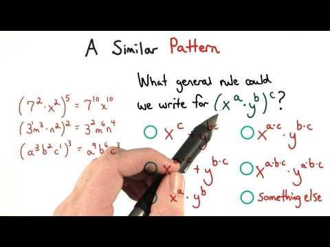 A Similar Pattern - Visualizing Algebra