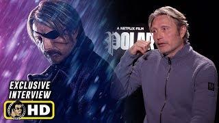 Mads Mikkelsen and Jonas Akerlund Interview for Netflix's Polar
