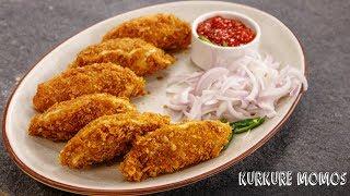 Kurkure Momos Recipe - Crunchy & Juicy Soya Veg Momo - CookingShooking