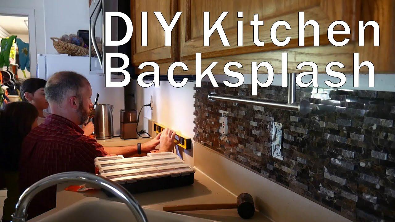 - Inoxia Speed Tiles Self Adhesive Tile Kitchen Backsplash Large