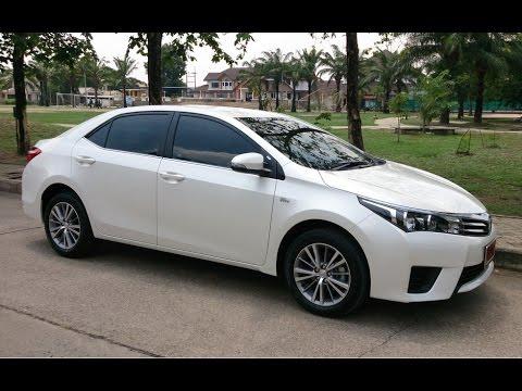รีวิว Toyota Corolla Altis 1.8E 2014 (ภายใน) !!