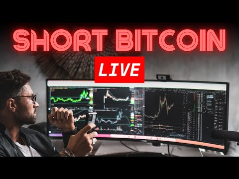 SHORT BITCOIN CRASH LIVE Stream For $5k Profit - Sold All My Altcoins +500% Gain