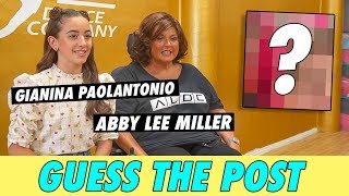 GiaNina Paolantonio vs. Abby Lee Miller - Guess The Post