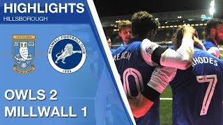 Sheffield Wednesday 2 Millwall 1 | Extended highlights | 2017/18