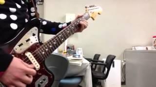 Guitar  copy:   TOKIO  君を想うとき (Fender  Jaguar)