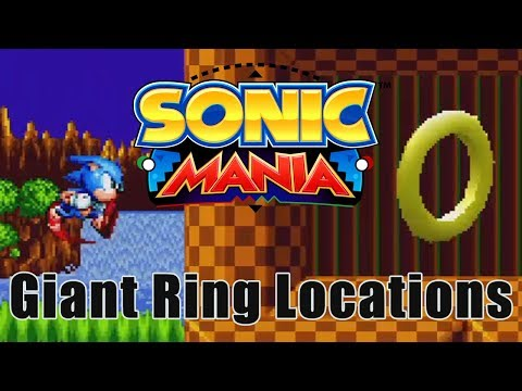 [Sonic Mania] Every Giant Special Stage Ring in the Game (And How to Reach Them)