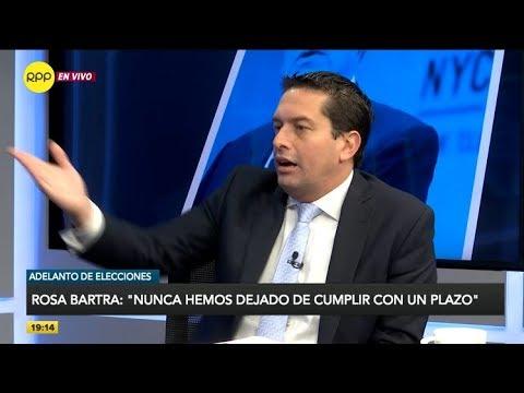Miguel Torres: 'No encuentro una razón para vacar a Vizcarra'
