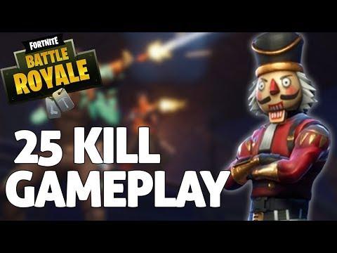 Insane 25 Kill Solo Squad Gameplay Fortnite Gameplay Ninja