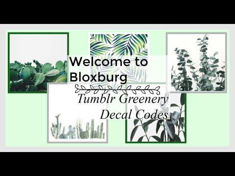 20 Bloxburg Tumblr Plant Decal Id S Codes In Description Youtube Are you searching for tropical leaf png images or vector? 20 bloxburg tumblr plant decal id s codes in description