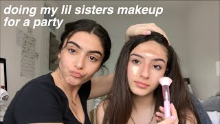 One of YazOnline's most viewed videos: doing my sisters makeup for a party!