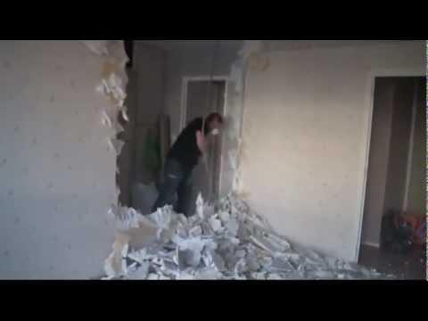 Alex casse le mur de la cuisine youtube - Youtube les murs porteurs ...