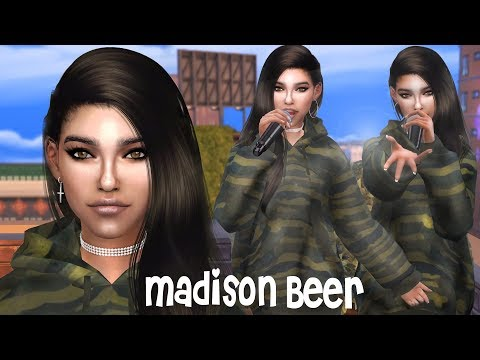 Sims 4 Madison Beer + CC LIST